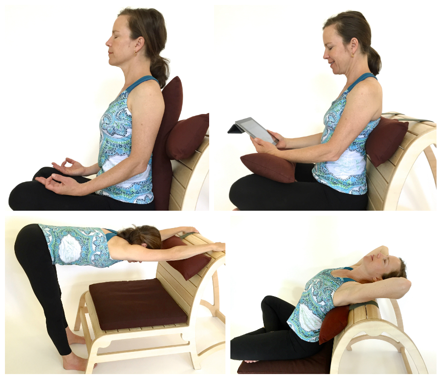 Meditation Chair With Back Support